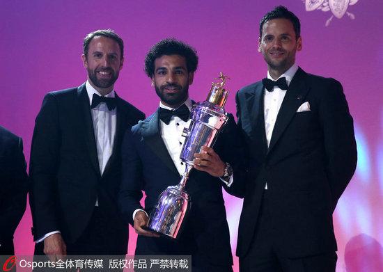 萨拉赫获PFA年度英超联赛最佳球员
