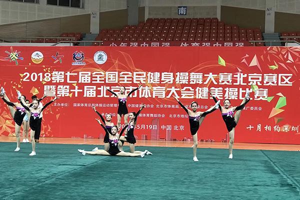 第十届北京市电子大健美操比赛今日开赛如何推广体育竞技游戏图片