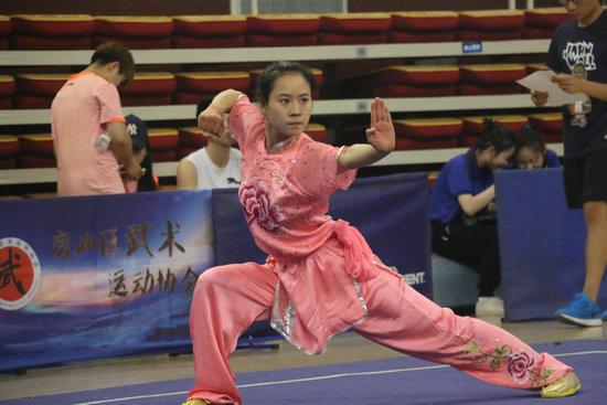 2018年首都高校武术比赛成功举行
