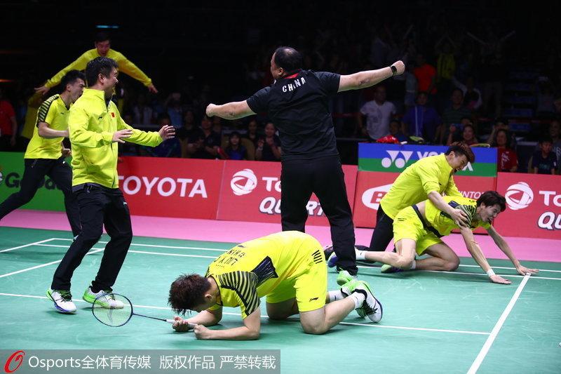 国羽重夺汤姆斯杯:小将锻炼价值大 日本未来更可怕