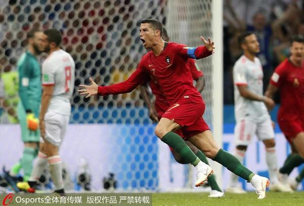 世界杯前瞻:西班牙葡萄牙剑指三分 沙特又成