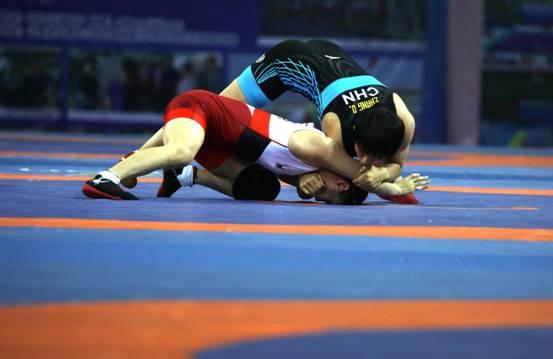 2018年国际摔联女子跤积分赛中国站公开赛收官中国队斩获4金5银7铜