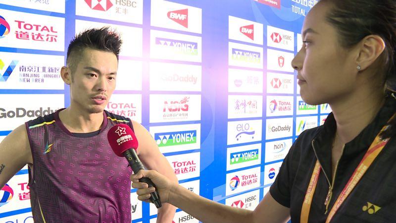 王仪涵以全新身份参与世锦赛称采访林丹有些紧张