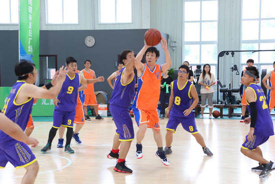 全民健身籃球比电竞賽點燃運動激情