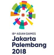 亚运会会徽       全新的会徽灵感来自于始建于1962年的雅加达格罗拉蓬卡诺体育场的椭圆外形,同时图形的中间融入了放射16道光芒的亚奥理事会红日LOGO。