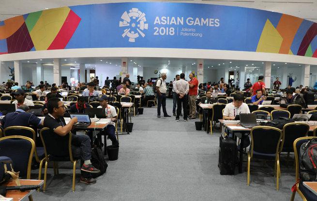 高清:2018雅加达亚运会开幕在即 东道主各方准备就绪