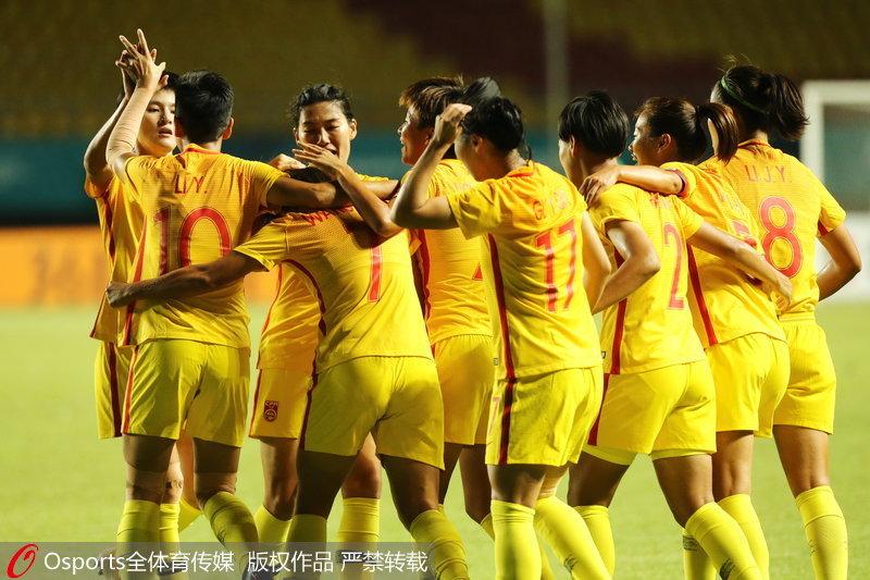 头像小组赛第三轮中国2-0胜朝鲜豪取三连胜女足闪动带女生字图片