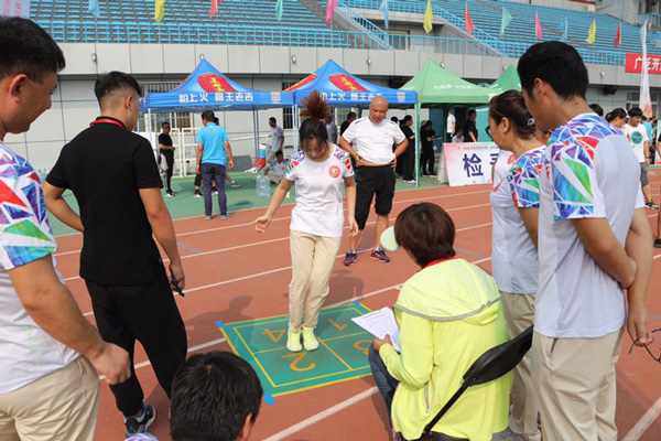 2018年《国家体育锻炼标准》达标赛暨北京市民体质促进挑战赛第二赛区落幕