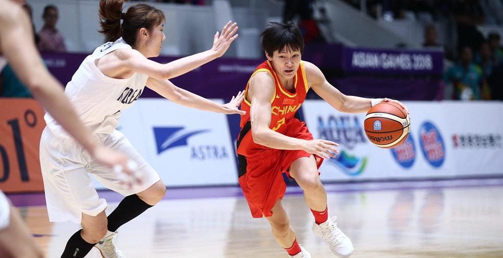 高清:女篮决赛 中国71-65胜朝韩联队摘得金牌