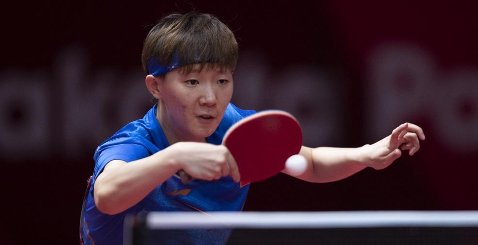 高清:乒乓球女单决赛 王曼昱4-3胜陈梦夺冠