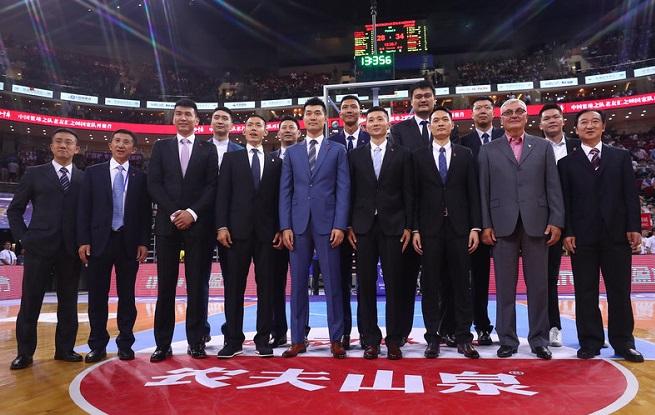 高清:08年男女篮国家队成员重聚五棵松