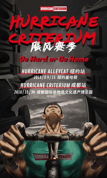 HurricaneCriterium飓风赛10月成都开战