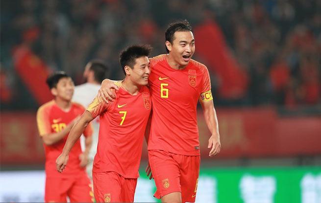 高清:郜林破门武磊点球建功 热身赛中国2-0胜叙利亚