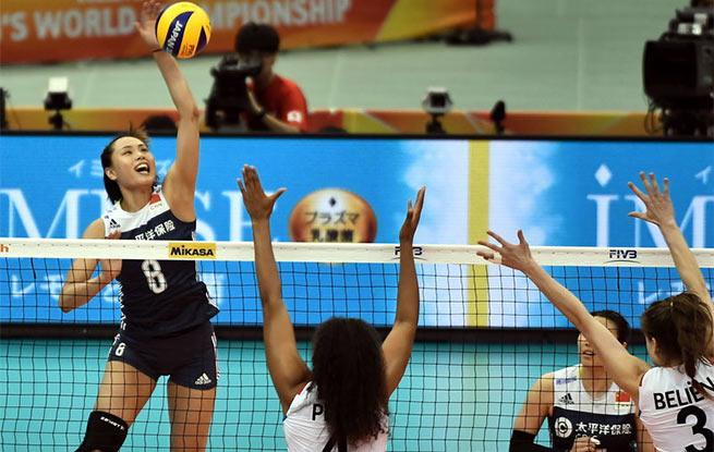 高清:女排世锦赛 中国3-1荷兰小组第一将战意大利