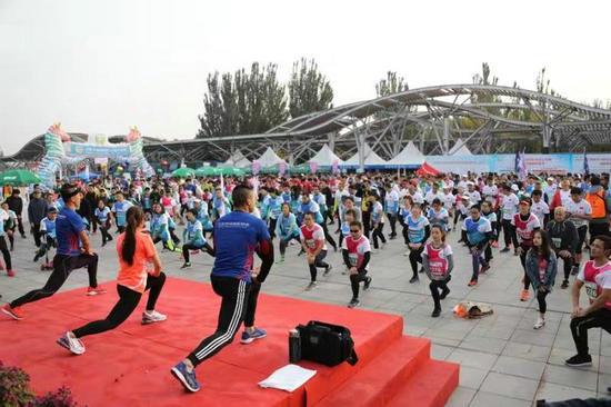 第三十六届公园半马北京公开赛建侬奥森站成功举办