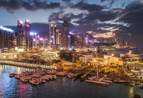第十二届中国杯帆船赛在深圳大亚湾开幕