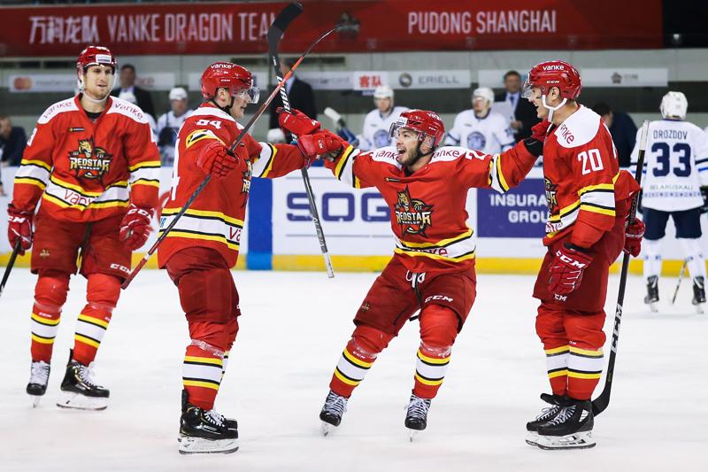 KHL-四将破门助复仇 万科龙4-1轻取明斯克迪纳摩
