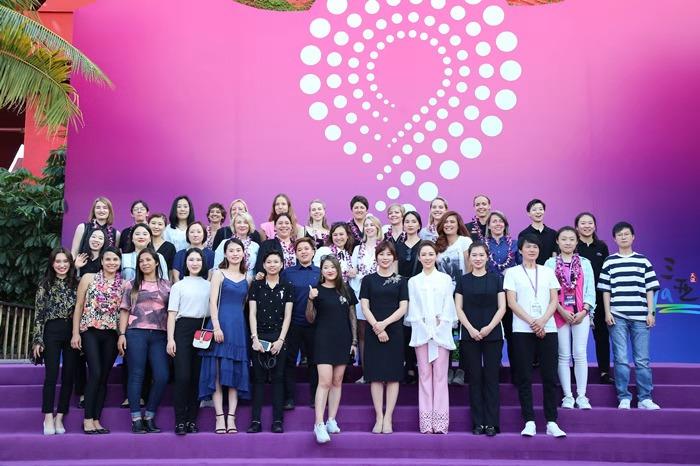 2018海南三亚世界女子9球锦标赛盛大开幕最才子吧