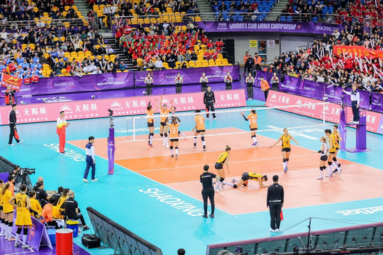 2018女排世俱杯登场 浙江女排首战实力仍获球迷认可