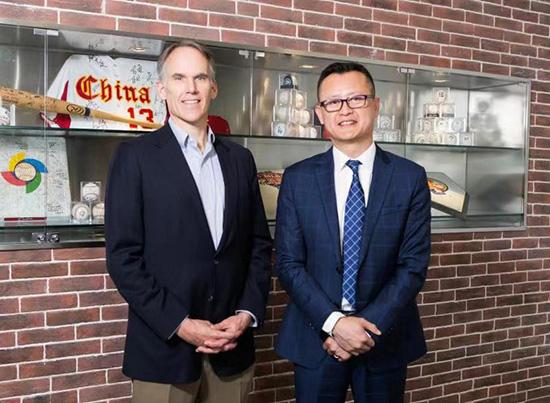 """美职棒""""MLB中国区""""迎来新掌门人东海岸说唱"""
