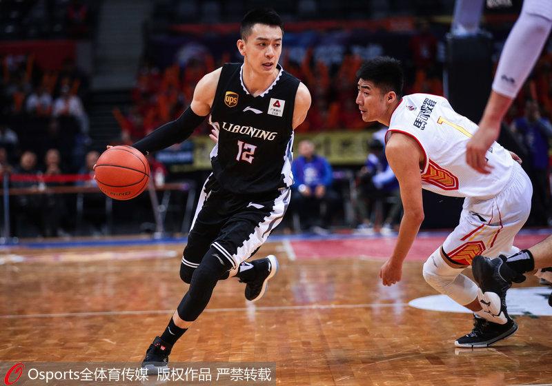 高清-哈德森47分创生涯新高 辽宁大胜深圳取7连胜