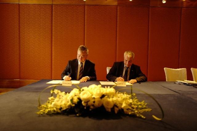 中国马术协会与国际马联签署谅解备忘录