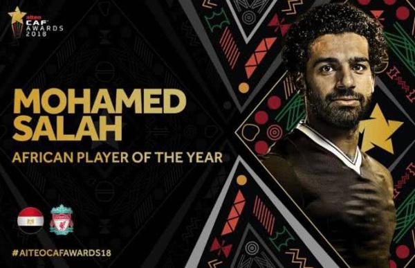 官方:利物浦前锋萨拉赫当选非洲足球先生精关一松