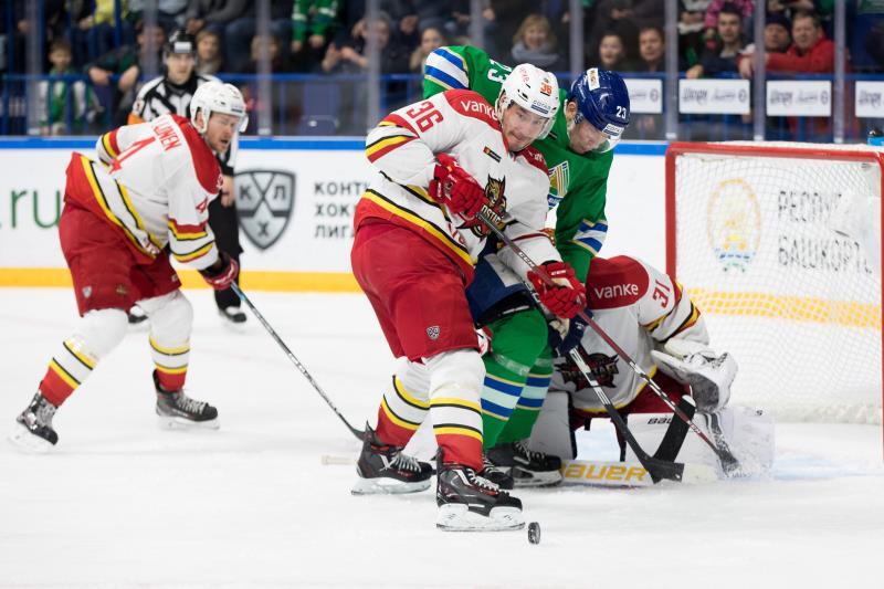 KHL-司徒永恩收获联盟首球 万科龙后程乏力客场不敌乌法