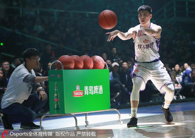 CBA全明星赛-程帅澎、姜伟泽晋级技巧挑战赛决赛