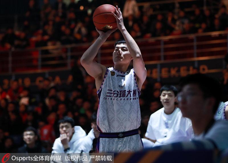 CBA全明星-于长春、杜润旺、陈林坚晋级三分球决赛