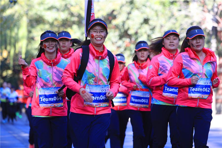 昌平妇联丽人跑团