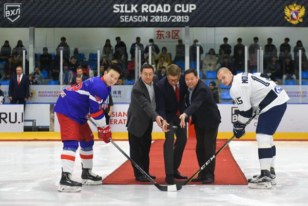 奥瑞金征战丝路联赛意义非凡让世界更瞩目中国冰球力量温家保