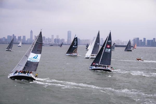 2019海帆赛半环离岸赛开战16支船队展开激烈角逐萨赫特的计谋