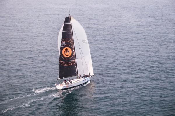 2019海帆赛全环赛迎来首支半程冲线船队诺莱仕队创纪录天书奇谈刀枪不入