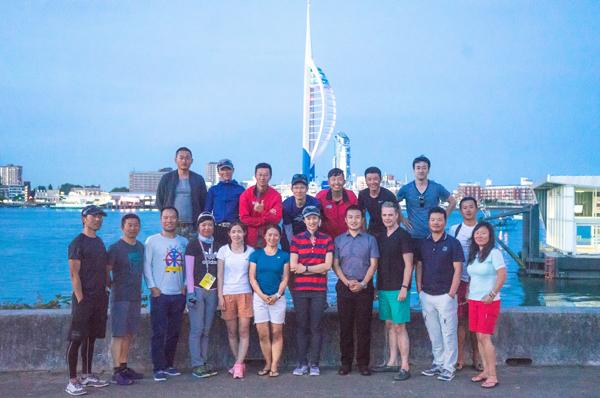 克利伯2019-20环球帆船赛三亚号举办大使船员招募推介活动