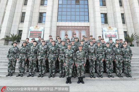 中国女篮军训结束许利民:以军人优良品质备战东京奥运