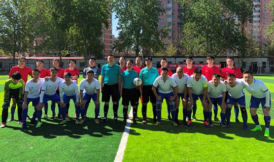 第六届中直机关圆梦杯足球赛开幕:14支球队参与规模空前