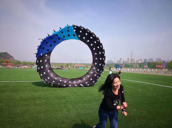 第七届北京国际风筝节国际风筝邀请赛举行