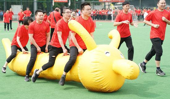 来京建设者趣味健身活动在京举行