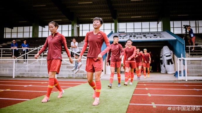 中国女足抵达雷恩赛区开练 与法国热身后球队信心更足