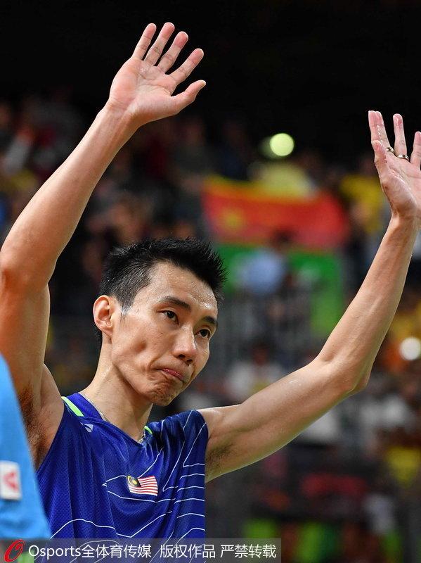 羽球名将李宗伟含泪宣布退役 林丹:独自上场没人陪我了