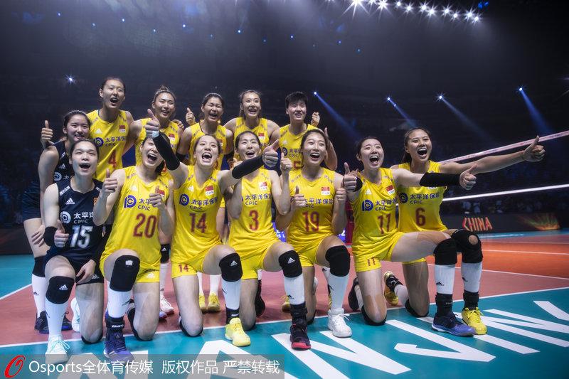 中国女排胜土耳其 夺得世联赛总决赛季军