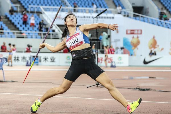 全國田徑錦標賽圓滿落幕 收官日呂會會刷新亞洲紀錄