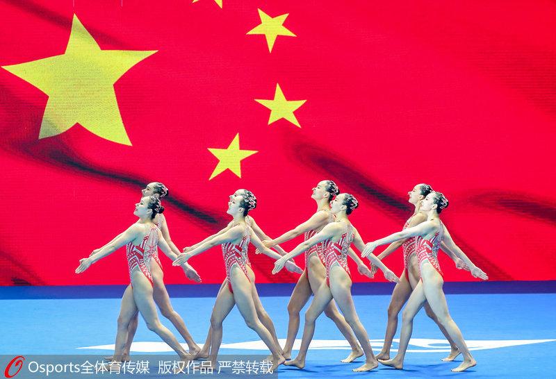 中國隊入場