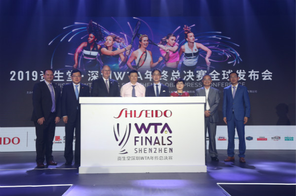 2019WTA年终总决赛将于10月在深圳启幕