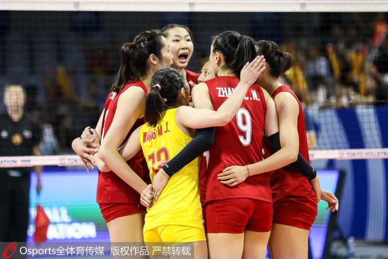 高清:奥运女排资格赛开仗中国女排3-0击败捷克取患上开门红