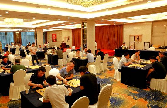 全国行业企业棋牌赛在浙江衢州举办