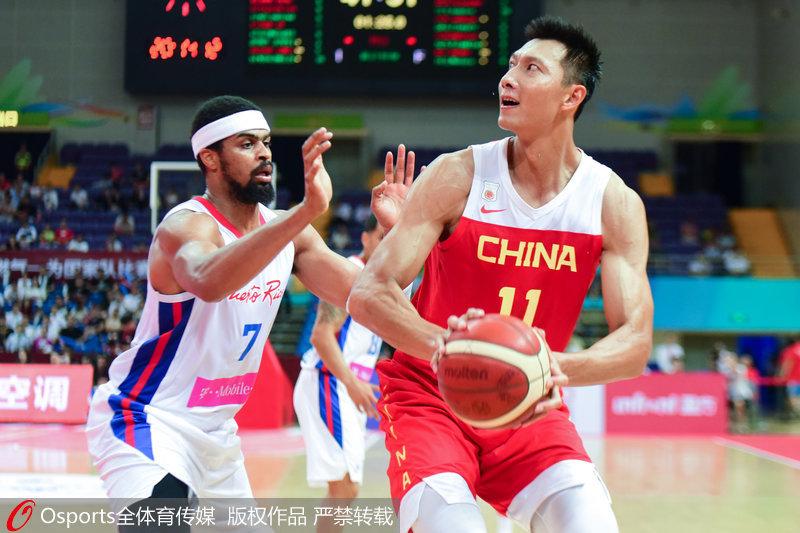 中国男篮78-72力克波多黎各昆山四国赛全胜夺冠