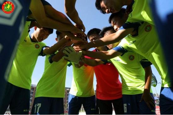 2019年全国青少年校园足球夏令营总营(高中组)首日小记