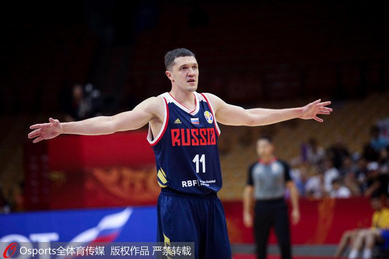 高清:2019篮球世界杯B组韩国73:87负俄罗斯